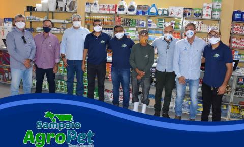 Loja Sampaio AgroPet foi inaugurada nesta sexta-feira (4) em Miguel Calmon