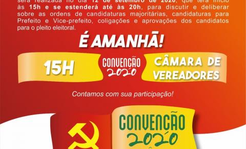 Comitê do PCdoB/Serrolândia convoca filiados para convenção partidária