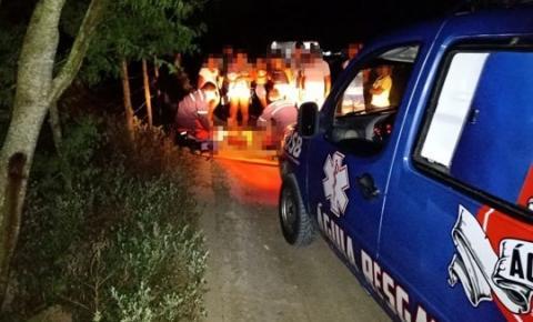 Homem fica ferido ao se envolver em acidente com moto na zona rural de Conceição do Coité