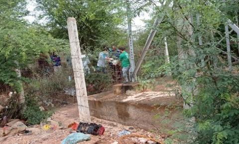 Homem sofre queda da Torre da Oi em Caatinga do Moura, Jacobina