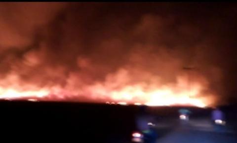 Incêndio atinge vegetação e queima 30 hectares em Barra, no oeste da Bahia; secretaria diz que origem de fogo é criminosa