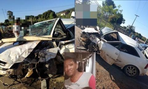 Grave acidente deixa uma pessoa morta em Tapiramutá-BA