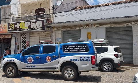 Jovem é baleado em lanchonete no centro de Miguel Calmon