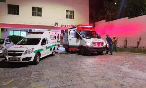 Samu 192 socorre vítima de queda de moto na Rua São Salvador em Jacobina
