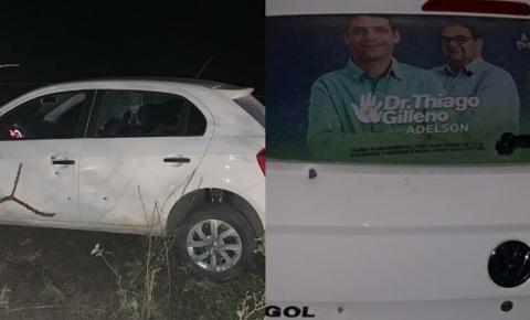 Candidato a prefeito de Ponto Novo sofre tentativa de homicídio