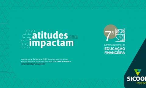 Instituto Sicoob vai participar da 7ª Semana ENEF