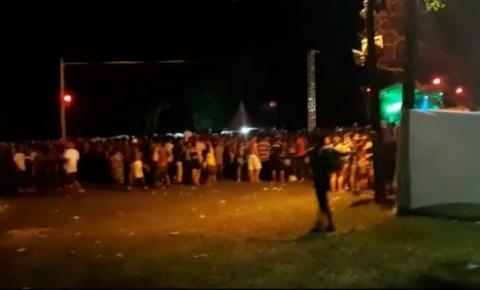 Polícia Militar acaba com festa clandestina de cerca de 1.200 pessoas em Serrolândia