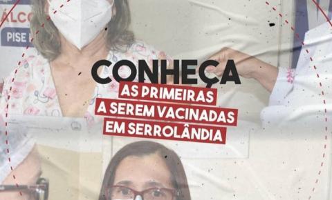 Serrolândia vacina 47 serrolandenses contra Covid-19, na Bahia já são mais de 36 mil baianos