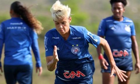 Serrolandense Gadu anuncia saída do time feminino e surpreende o Bahia