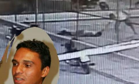 Câmera de segurança mostra assassinato na cidade de Miguel Calmon: Assista