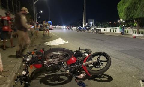 Uma mulher morreu e três homens ficaram feridos, vítimas de colisão entre motos no centro de Jacobina