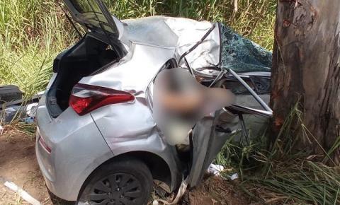 Sargento da Polícia Militar da Bahia e filha morrem em acidente na BR-116, em MG
