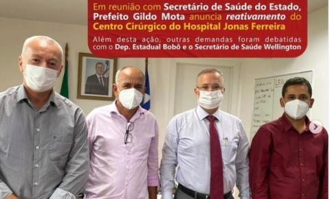 Prefeitura de Serrolândia confirma reativação e estruturação do Centro Cirúrgico do hospital