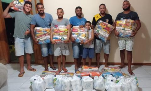Vereador Régis de Vigário faz distribuição de cestas básicas pelo 4º mês consecutivo