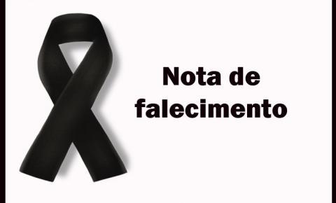Comunicamos a todos o Falecimento de Hermínio Bispo da Silva, pai do Prefeito Gildo Mota.