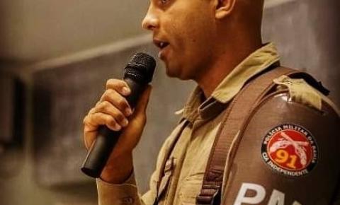 Vereador Clebinho de Silé, indica a concessão de título de Cidadão Serrolandense ao soldado da PM Vilson Nogueira
