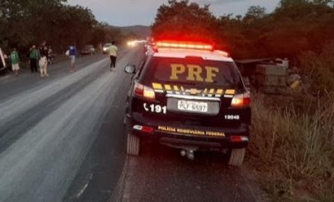 Homem morre atropelado por ambulância na BR-324, próximo a Novo Paraíso de Jacobina