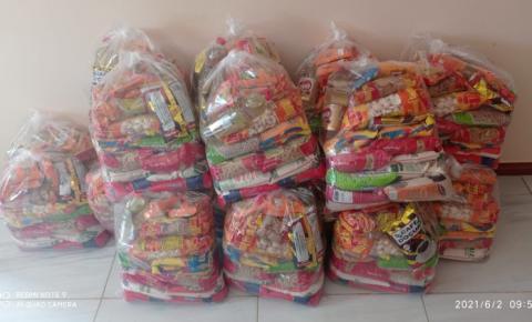 Presidente da Câmara de Serrolândia da continuidade na distribuição de cestas básicas