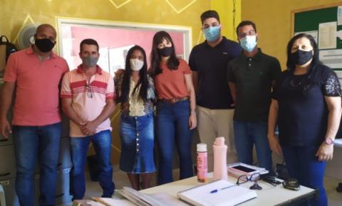 Vereadores visitam o CRAS em Serrolândia para entender as demandas da população