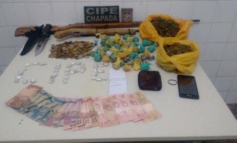 Chapada: Quadrilha de traficantes é desarticulada pela polícia no município de Wagner