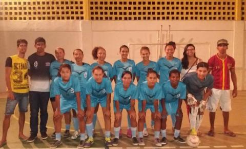 E.C.Inter Feminino Serrolândia participar do Iº Torneio de Futsal feminino do ''projeto Março Lilás'' em Várzea da Roça