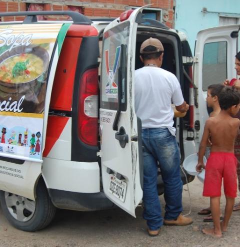 PROJETO SOPA SOCIAL DA PREFEITURA DE CAPIM GROSSO-BA