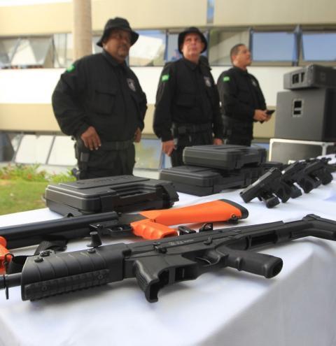 Governo do Estado investe R$ 7,8 milhões em equipamentos para agentes penitenciários