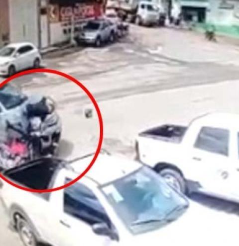 Vídeo mostra momento exato de acidente em Jacobina; assista