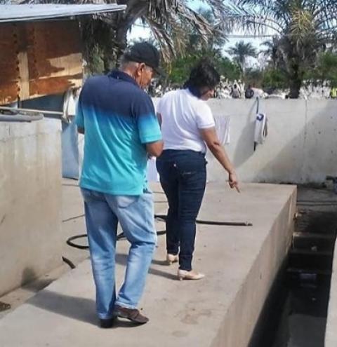 Consórcio Jacuípe por meio do GAC realiza inspeções no município de São José e Quixabeira