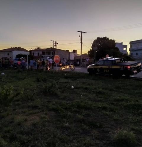 Acidente deixa dois feridos em Capim Grosso