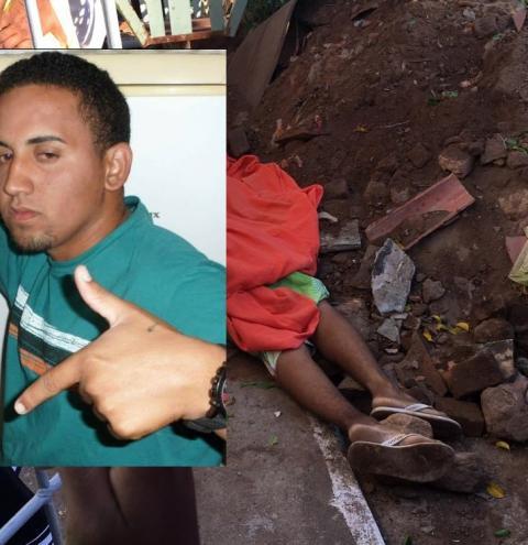 Jovem é morto a tiros em Serrolândia na tarde desta quarta-feira