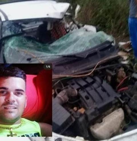 Jovem morre vítima de acidente próximo a Gavião