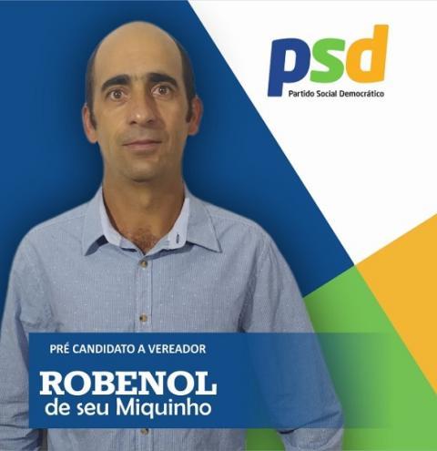 Robenor de Senhor Miquinho é mais um pré-candidato a Vereador em Serrolândia