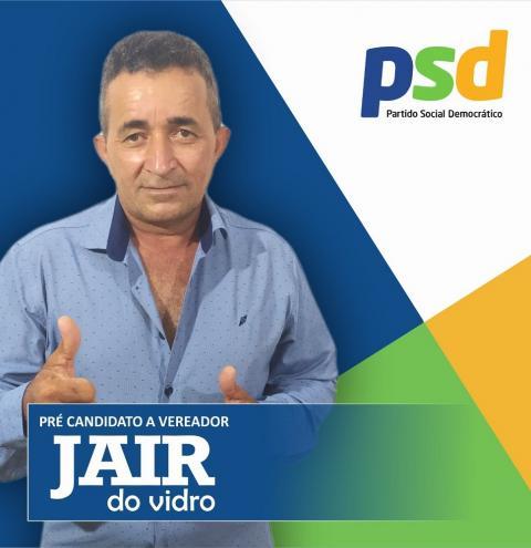 Jair do Vidro lança pré-candidatura a vereador e agita política em Serrolândia