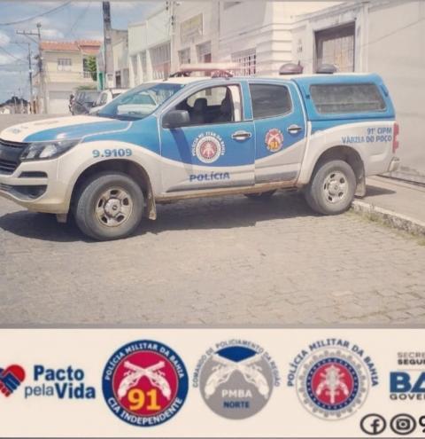 Polícia Militar prende suposto autor de tentativa de homicídio em Várzea do Poço