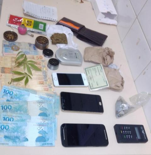 Polícia Militar prende homem por Tráfico de Drogas em Serrolandia na tarde de ontem 06.10.2020.