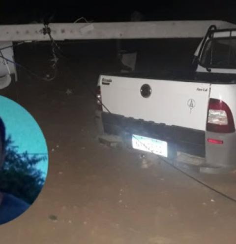 Homem morre ao colidir carro em poste da rede elétrica no interior da Bahia