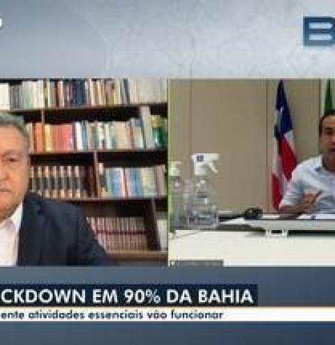Bahia tem restrição total de atividades não essenciais a partir de sexta-feira