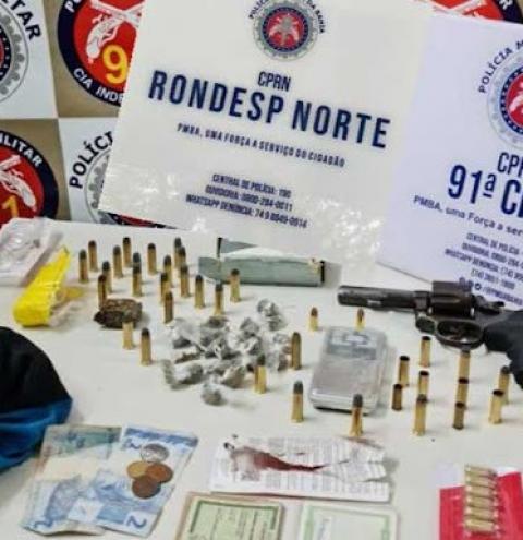 Traficante morre em confronto com a Polícia Militar em Capim Grosso